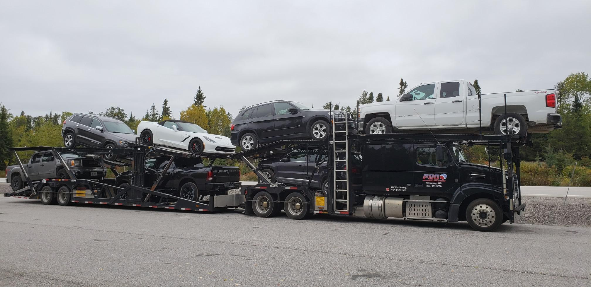 Car Shipping in Canada