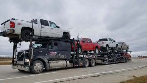 Transport Vehicle across Canada