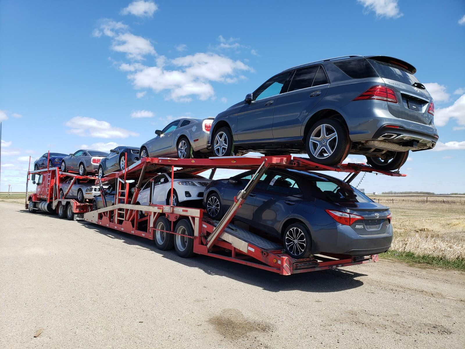 Shipping Your Car across Canada