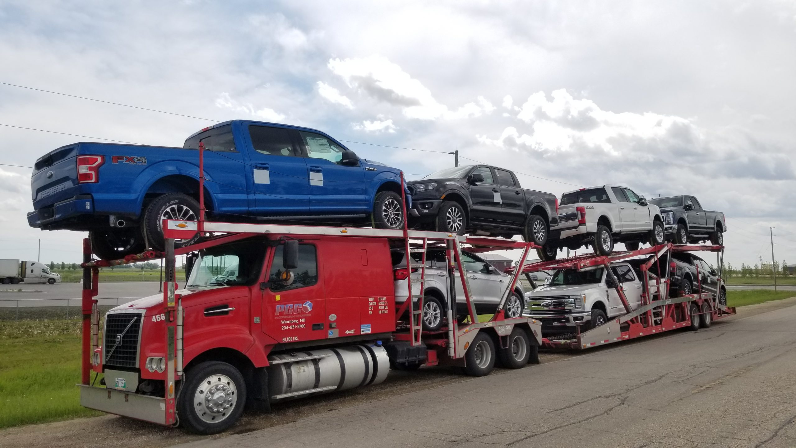 Shipping Car from Toronto to Winnipeg